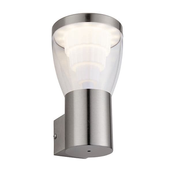 Saxby Carraway 1lt Wall IP44 10.8w Cool White 79197 By Massive Lighting